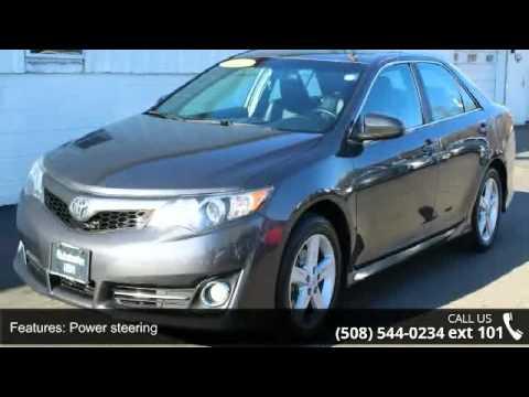 2012 Toyota Camry Se Autobahn Usa Westborough Ma 01581 Youtube