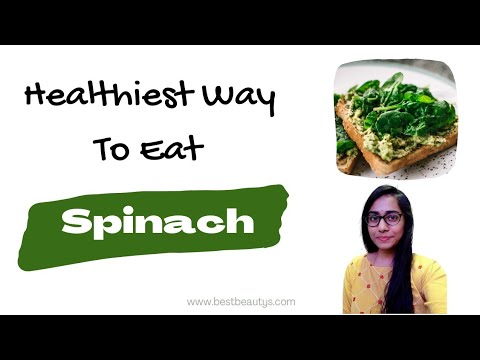 Spinach Nutritional Facts | Raw vs Cooked | Are You Eating Spinach In A Right Way