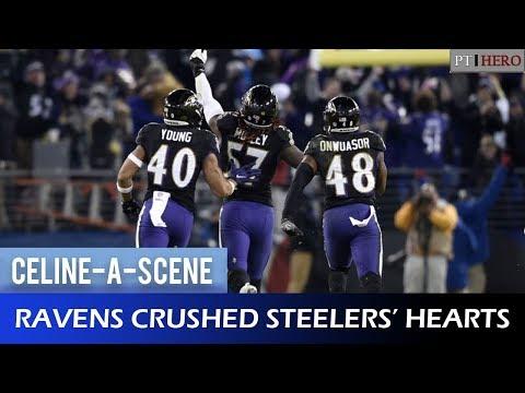 RAVENS' GAME-WINNING INTERCEPTION vs BROWNS (w/ TITANIC MUSIC) || CELINE-A-SCENE