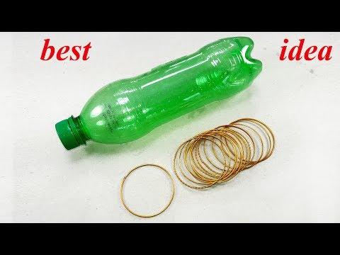 Empty plastic bottle craft idea | best out of waste | plastic bottle reuse idea | best diy