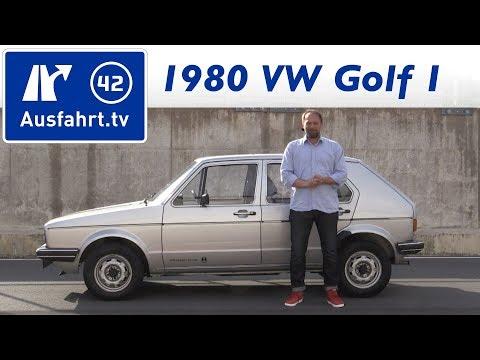 1980 Volkswagen VW Golf I 1.5 Liter  Kaufberatung, Test, , Historie