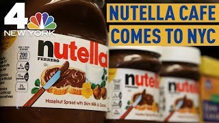 NYC's First Nutella Cafe Opens Up in Union Square