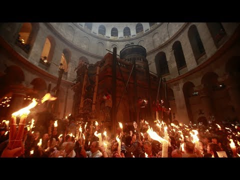 Holy Fire Jerusalem 2018 and the Rebirth of Christian Civilization
