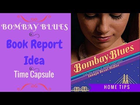 Time Capsule Book Report Idea (Bombay Blues)