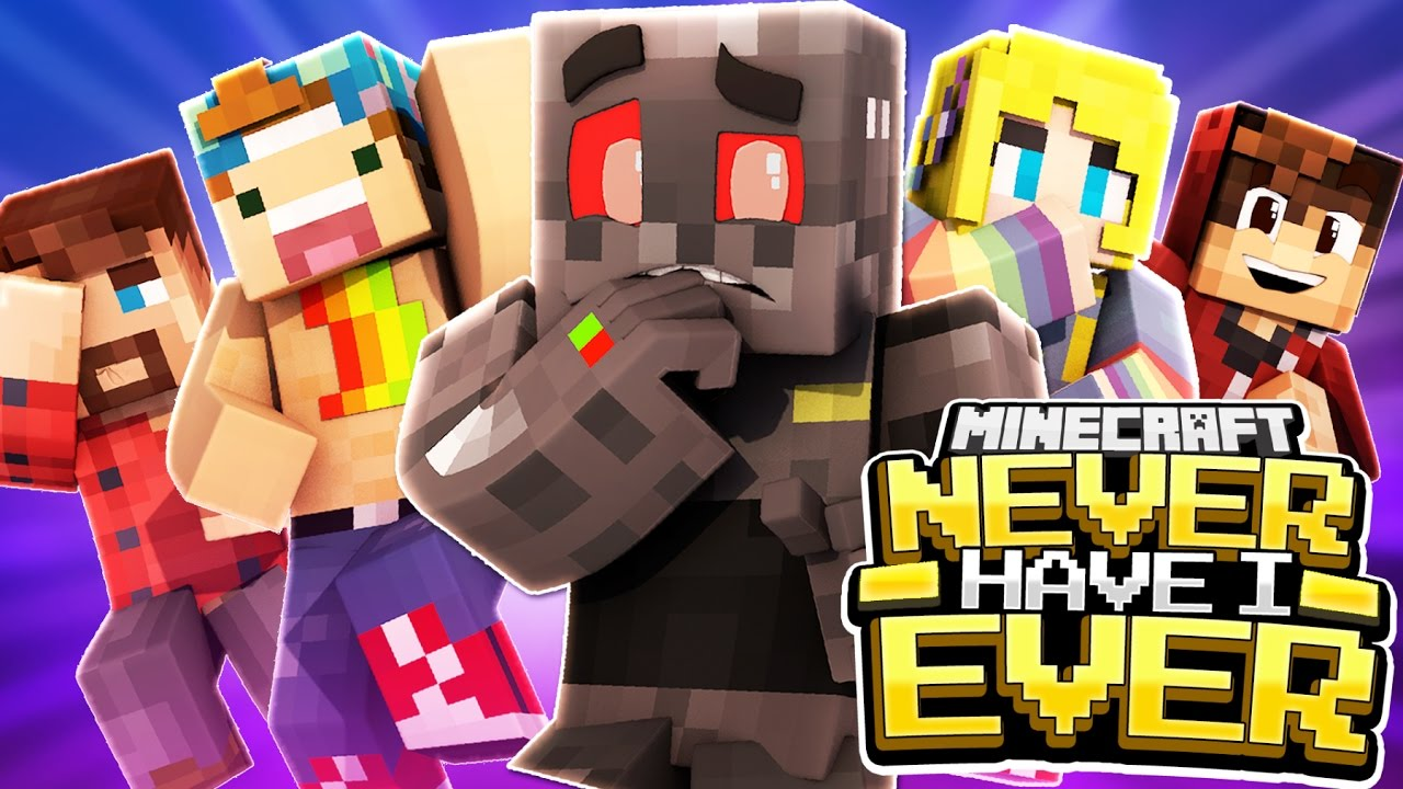 Minecraft Never Have I Ever: Targeting Edition! (Funny Moments)