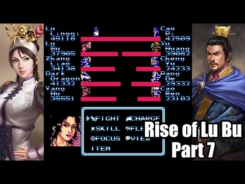 Destiny Of An Emperor Rise Of Lu Bu Walkthrough Let S Play Part 7 Lu Lingqi Vs Cao Pi Youtube