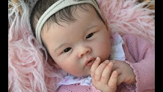 Adorable Asian Silicone Baby Chi
