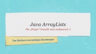 Java ArrayList Tutorial