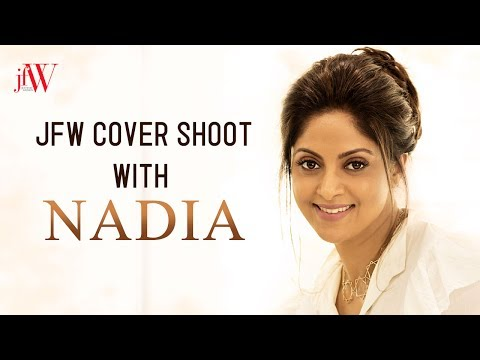Nadhiya Stunning Photoshoot | JFW Cover Shoot | June 2017 | JFW Magazine