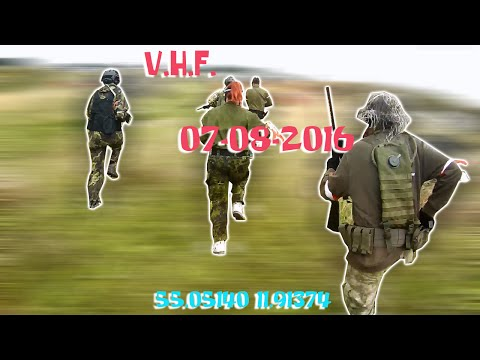 07-08-2016 Segments from airsoft game at Vordingborg Hardball Forening (VHF), video01