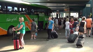 Central  Bus Station Berlin (ZOB) -Travelers