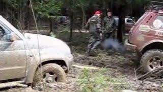 Toyota FJ Cruiser UAZ Patriot Ssangyong Kyron Off road 4x4 Mud Bog