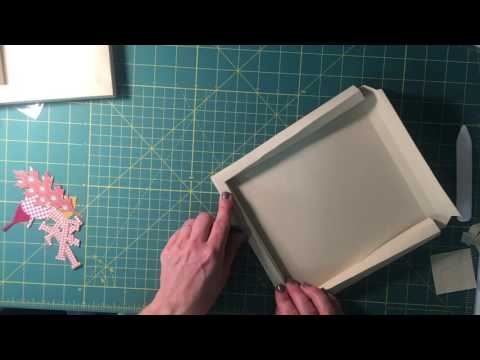 paper shadowbox frame