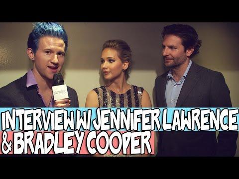 MY INTERVIEW W/ JENNIFER LAWRENCE & BRADLEY COOPER