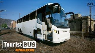 Tourist Bus Simulator #28 - Trải Nghiệm Xe Khách Mới Scania Touring