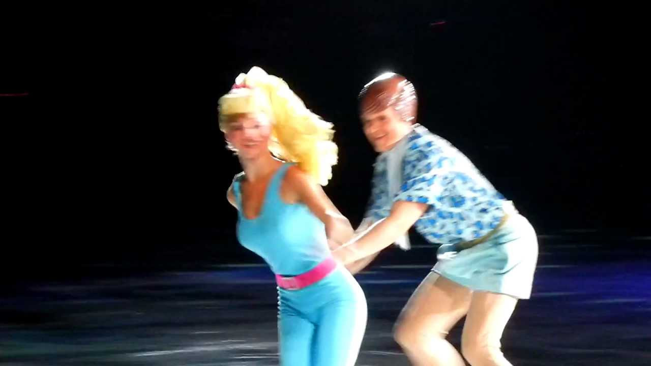 Toy Story 3 On Ice Ken And Barbie Youtube