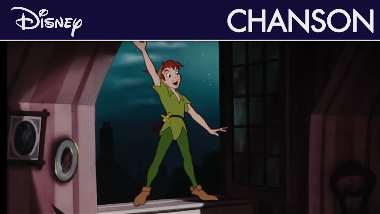 Peter Pan You Can Fly French Version