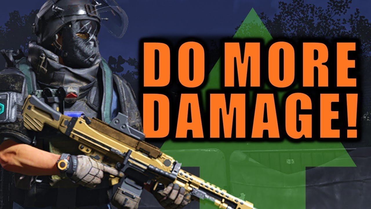 The Division 2: How To DO MORE DAMAGE!