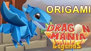 How to Breed the Origami Dragon - Dragon Mania Legends (Enchantment Dragon)