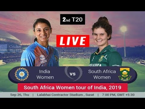 India Women Vs South Africa Women 2nd T20i Live Cricket