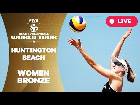 Huntington Beach - 2018 FIVB Beach Volleyball World Tour - Women Bronze Medal Match
