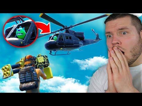 Alien sitzt im Helikopter und fliegt ? Hide and 31er