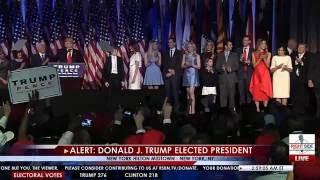 Donald Trump Elected President - Full Victory Speech 11/9/16