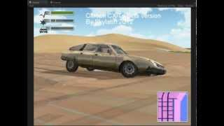 Repeat youtube video Unity3D Edy's Vehicle Physics DRIV3R Citroen CX reshaped like the beta version