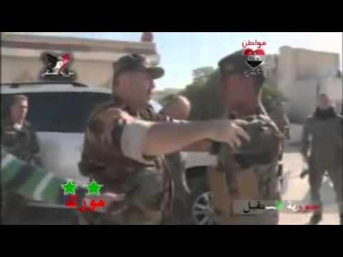 الجيش العربي السوري في مورك بقيادة النمر البطل العقيد سهيل الحسن