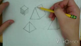 How to Draw Prisms and Pyramids