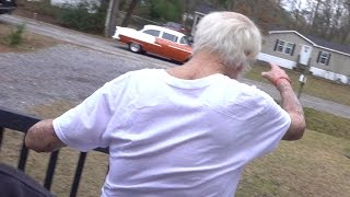 ANGRY GRANDPA'S DREAM CAR WAS STOLEN!!