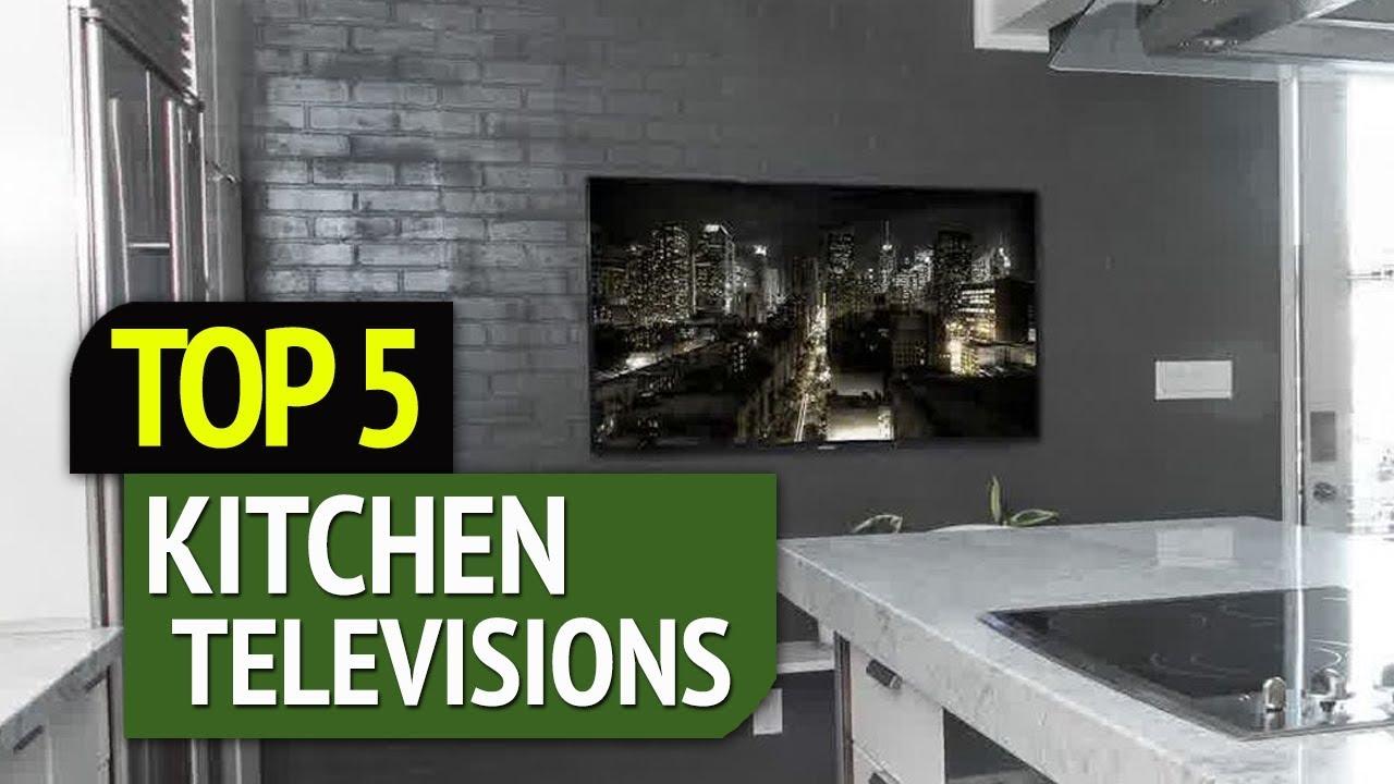 TOP 5: Best Kitchen Televisions 2018