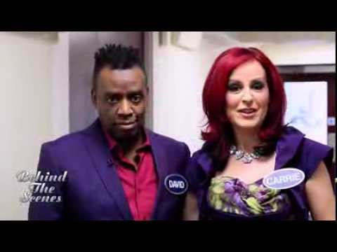 Carrie & David Grant on All Star Mr & Mrs