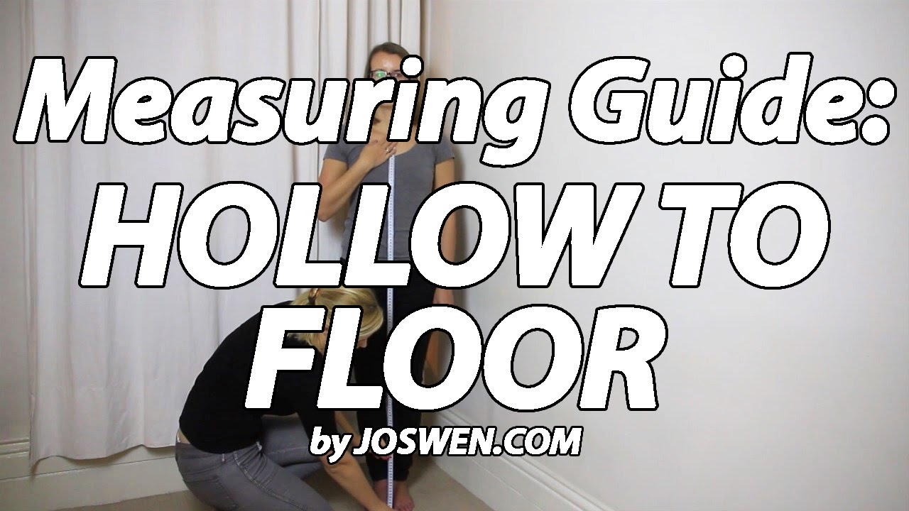 Hollow To Floor Dress Measuring Guide By Joswen Com Youtube