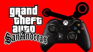 How to play San Andreas on Steam with an Xbox One or Xbox 360 Controller (XInput Device) [OLD]