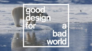 Highlights of Dezeen's talk on climate change for Good Design for a Bad World