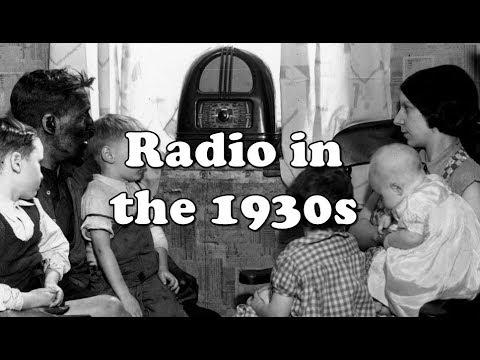 History Brief: Radio in the 1930s