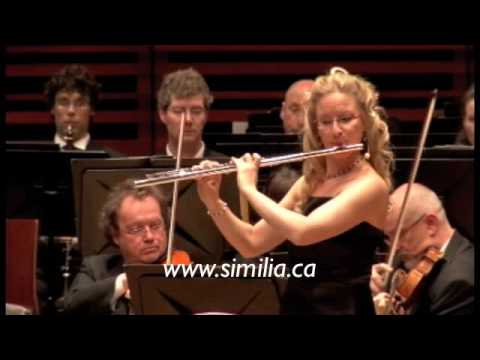 Similia: Carmen Fantasy with orchestra (Part 1), Nadia Labrie flute