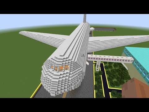 Minecraft - Giant Triple Decker Airplane (100% Completed)