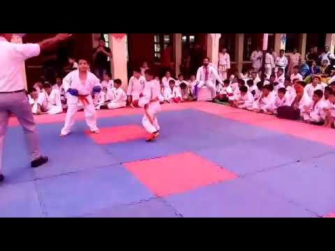 Gurung Karate Academy-regd Student Madhav Narula Karate Championship 2017 in Delhi