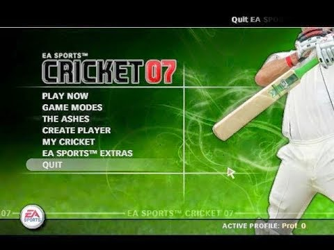 EA Sports Cricket 2007 PC Game Full Version Free Download