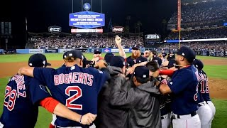 Celebrate with the 2018 World Series Champion Red Sox
