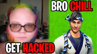 He Hacked My Youtube Channel... (Fortnite)