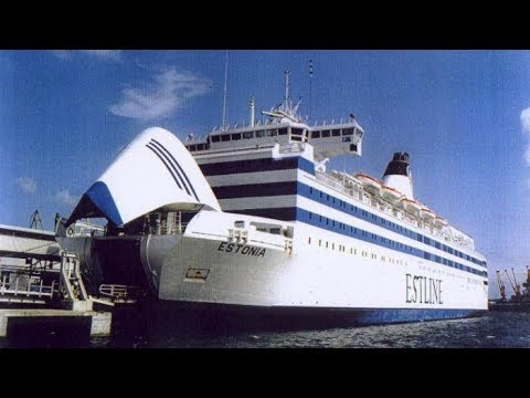 Sinking Ship Radio Voice Records / MS Estonia Passenger Ship