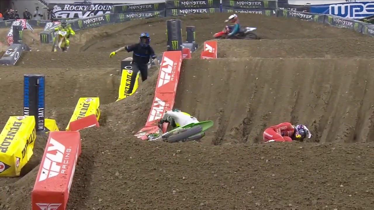 Round #6 450SX Video Highlights