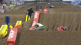 Supercross Round #6 450SX Highlights | Indianapolis, IN, Lucas Oil Stadium | Feb 6, 2021