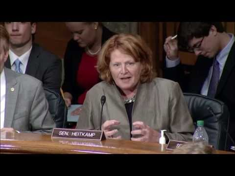 Heitkamp Discusses Federal Real Property Reform at a Senate Committee Hearing