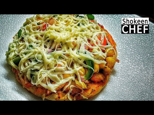 Chole Kulche with Amul Cheese   छोले कुल्चा बनाएं in 5 minutes   Shokeen Chef by Bhooka Saand