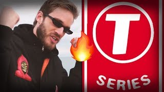 🔴 #PEWDIEPIE VS. #TSERIES YouTube Live Subs Count 🔴 thumbnail