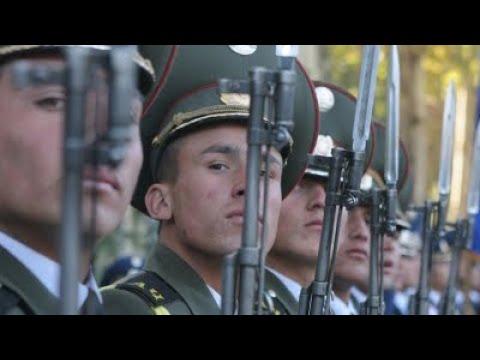 Весенний призыв в армию начался в Таджикистане